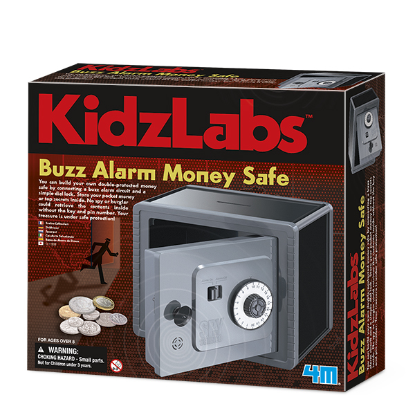 KidzLabs Buzz Alarm Money Safe