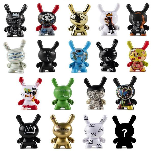 Kidrobot Jean-Michel Basquiat Dunny Series - Vinyl Mini Figure - Surprise Pack