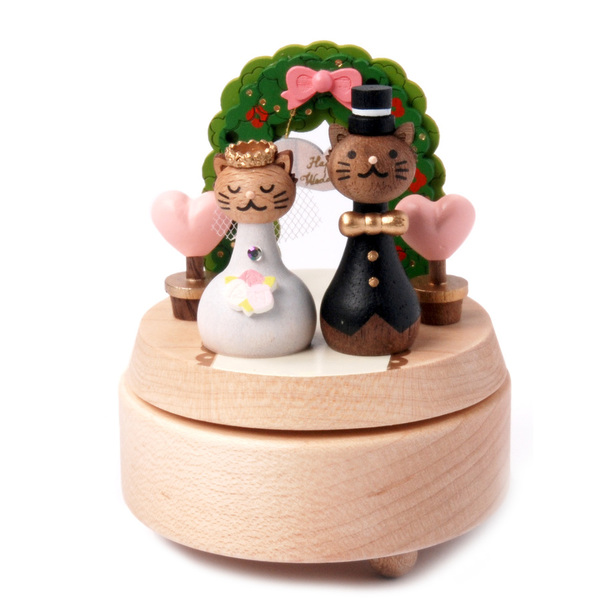 Wooderful Life Wedding Music Box
