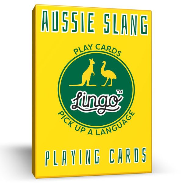 Aussie Slang Playing Cards