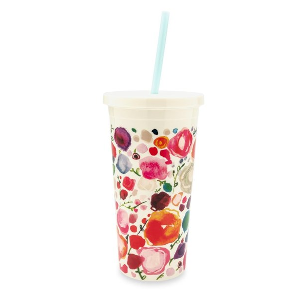 Kate Spade New York Floral 20oz Insulated Tumbler