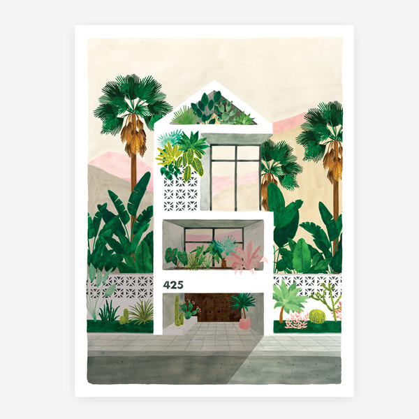All The Ways To Say Botanical Kingdom Dream House Print