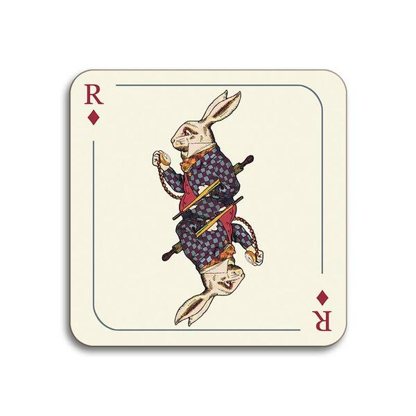Avenida Home Alice In Wonderland Rabbit Coaster