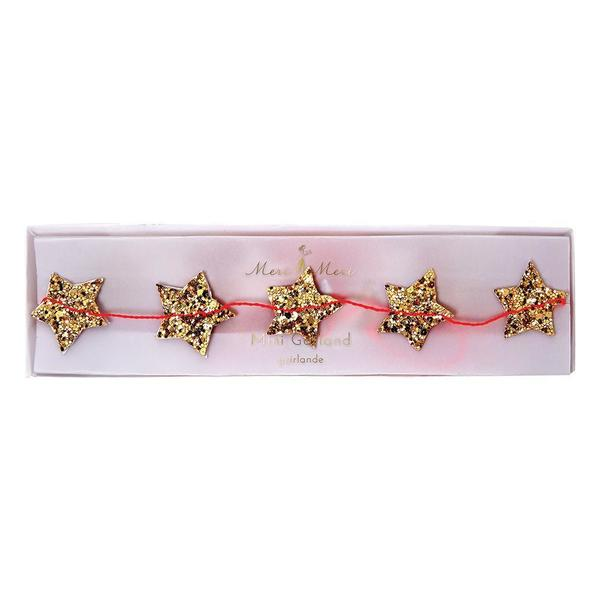 Meri Meri Mini Gold Star Garland