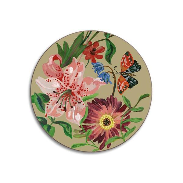 Nathalie Lete Garland and Rose Clay Coaster