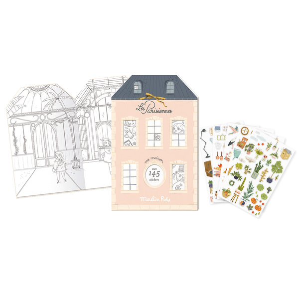 Moulin Roty Les Parisiennes Sticker Book