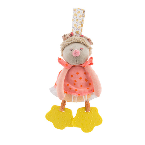 Moulin Roty Les Tartempois Firefly Rattle with Teething Feet