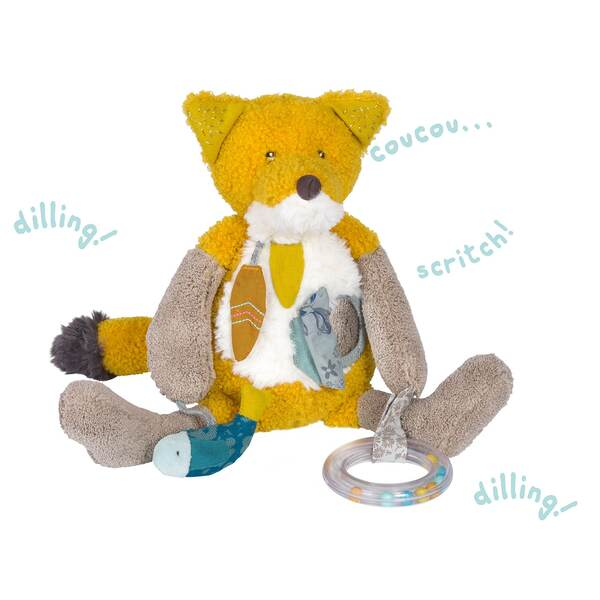 Moulin Roty Les Voyage d'Olga Chausette the Fox Activity Toy