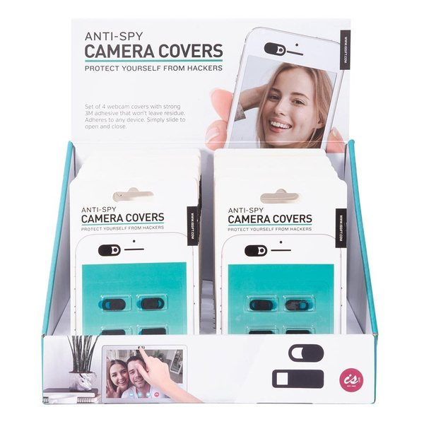 Anti-Spy Camera Covers (Set of 4)