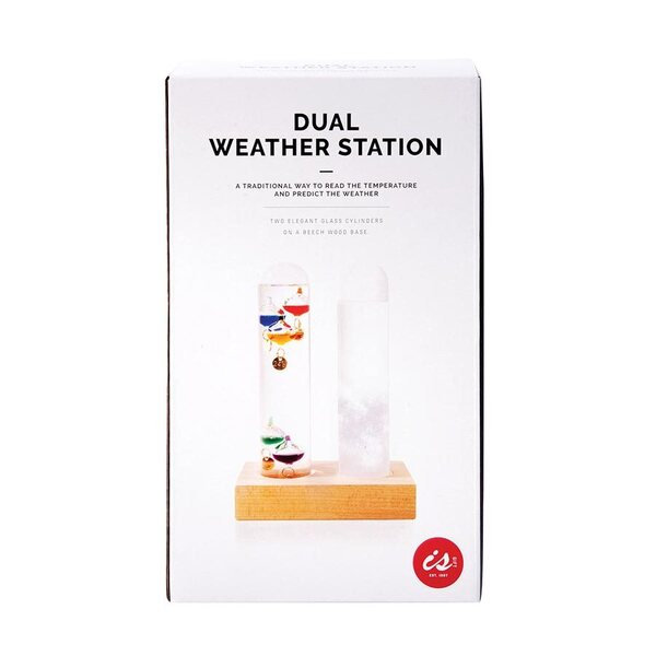 IS Gift Dual Weather Station