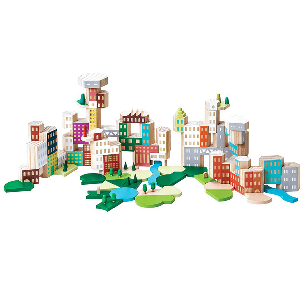 Areaware Blockitecture Big City Collectors Set