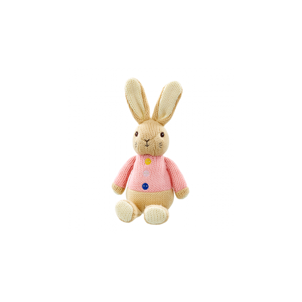 Peter Rabbit Flopsy Made with Love Knit Character
