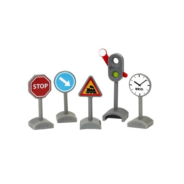 BRIO Traffic Sign Kit