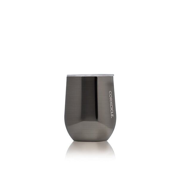 Corkcicle Metallic Stemless 355ml Gunmetal