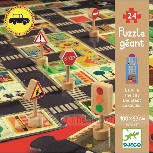 Djeco City Road Puzzle