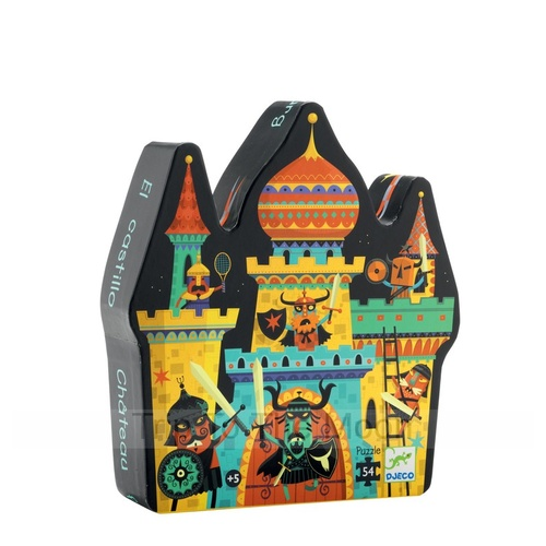 Djeco Fortified Castle Puzzle 54pce