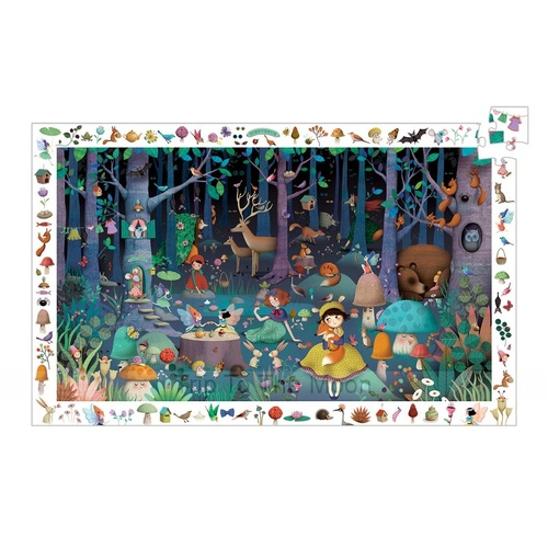 Djeco Enchanted Forest 100pcs Puzzle
