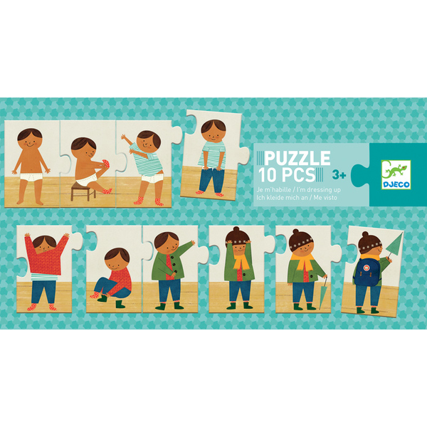 Djeco Dressing Up Puzzle 10pcs