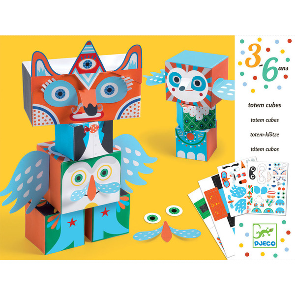 Djeco Create With Stickers Strange Creatures
