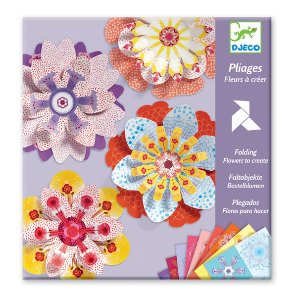 Djeco  Flowers to Create Folding Art
