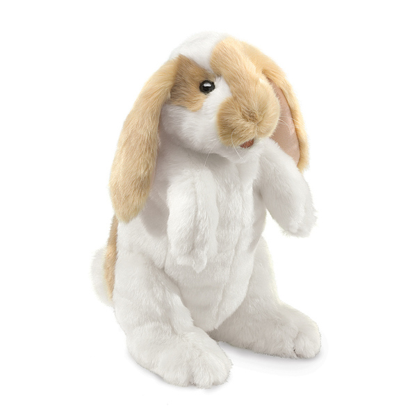 Folkmanis Standing Lop Rabbit Puppet