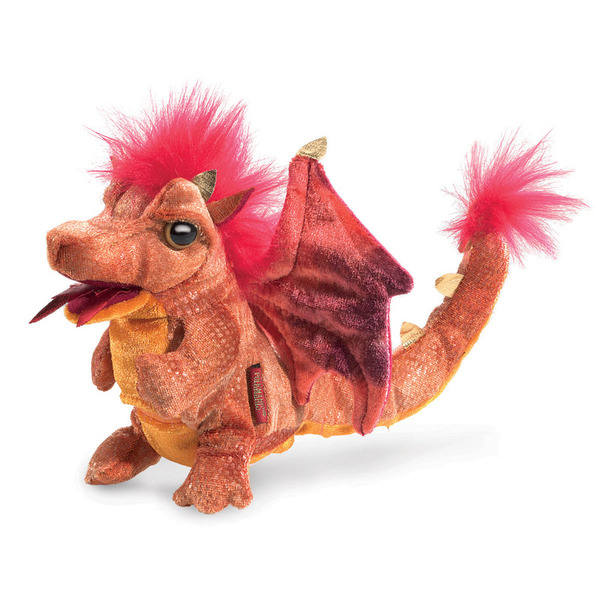 Folkmanis Fire Dragon Puppet