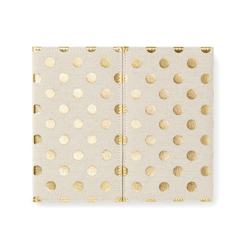 Kate Spade NEW YORK Polka Dot Desktop Weekly Calendar and Folio