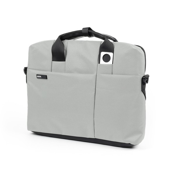 Lexon Apollo Collection Small Documents bag Light Grey