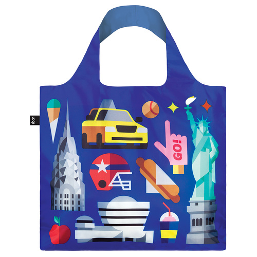 LOQI Reusable Shopping Bag - Hey New York!