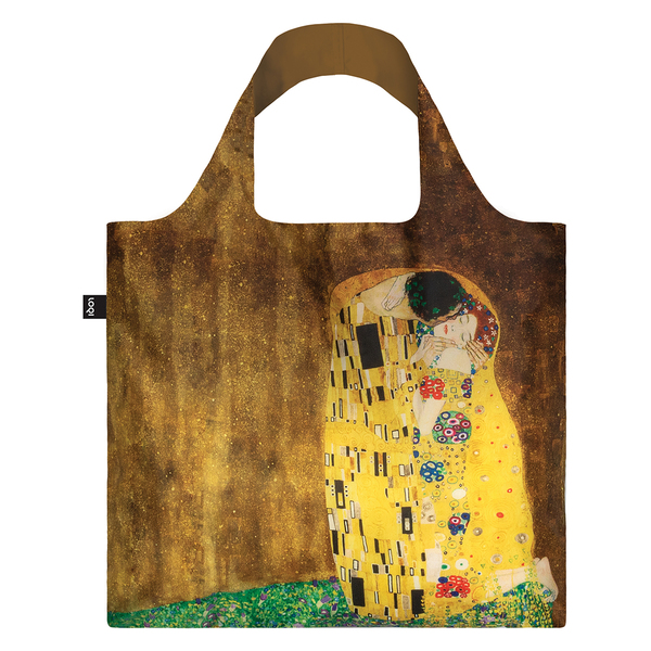 LOQI Reusable Shopping Bag Museum Collection Gustav Klimt - The Kiss