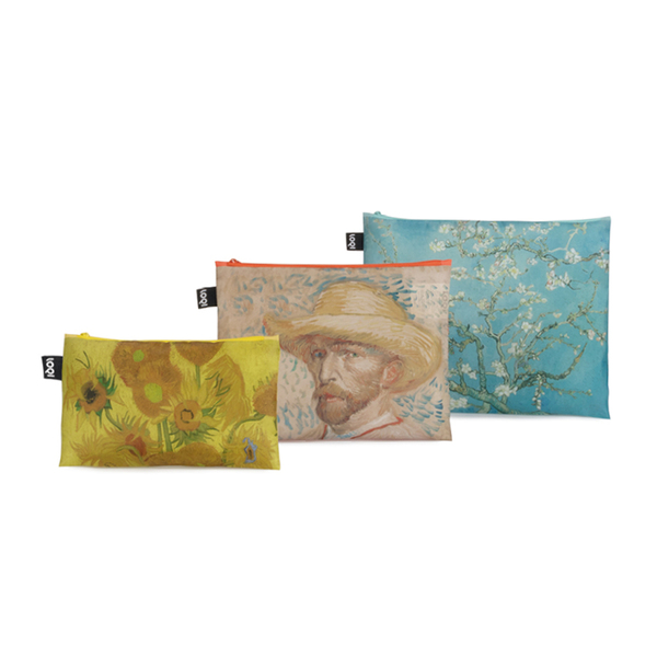 LOQI Zip Pocket Museum Collection- Van Gogh Set of 3