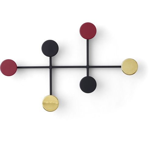 Menu Afteroom Coat Hanger Black/Brass