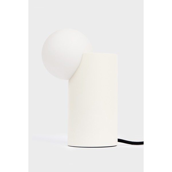 Milligram Form Light Cylinder White