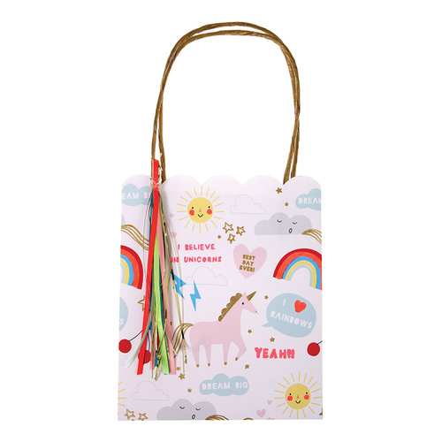 Meri Meri Rainbow & Unicorn Party Bags