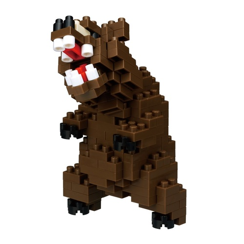 Nanoblock Grizzly Bear