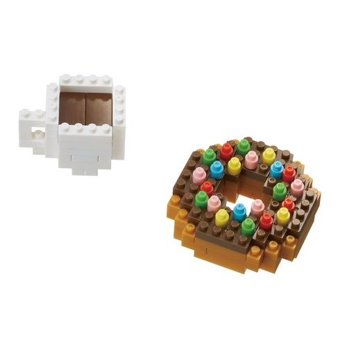 Nanoblock Donut & Coffee