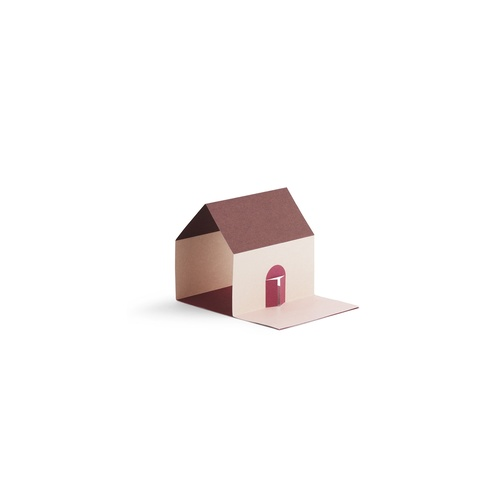NORMANN COPENHAGEN Sticky Notes House Pink