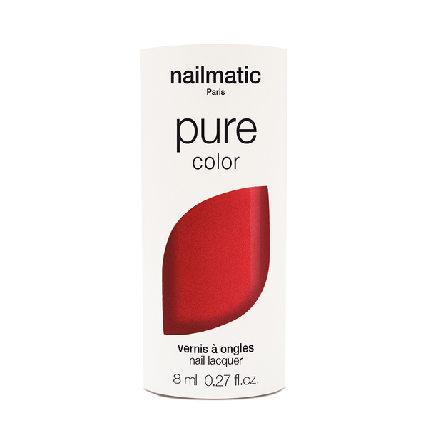 Nailmatic Pure Colour Amour Red Shimmer