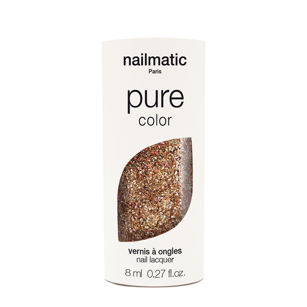 Nailmatic Pure Colour Bonnie Rose Gold Glitter