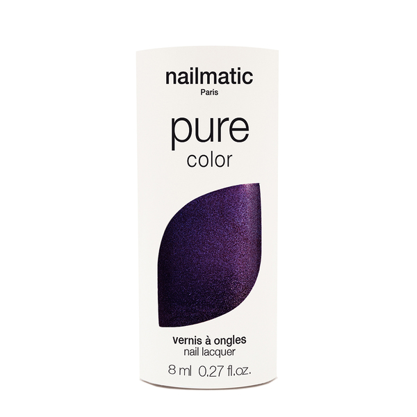Nailmatic Pure Colour Prince Purple Shimmer