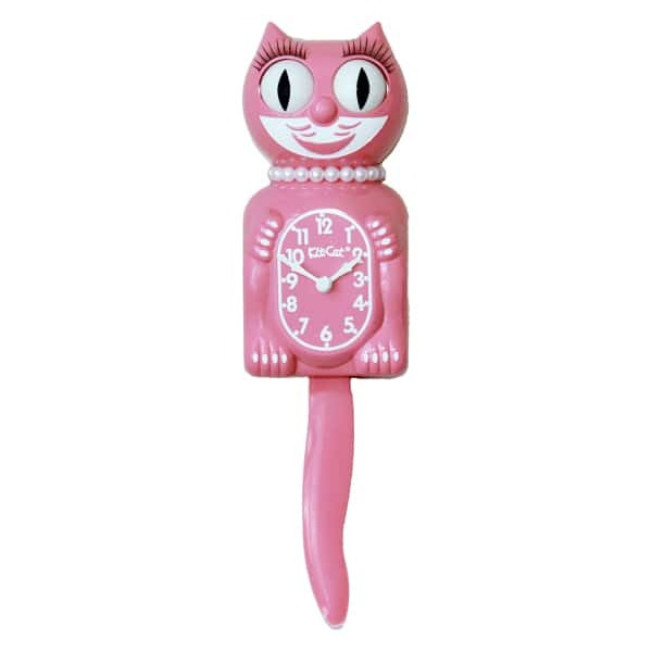 Kit-Cat Clock Limited Edition Strawberry Ice Lady