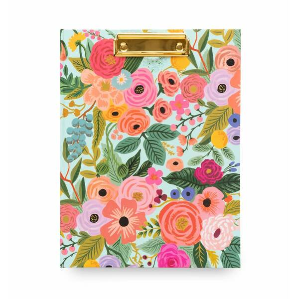 Rifle Paper Co. Clipfolio With Notepad - Garden Party