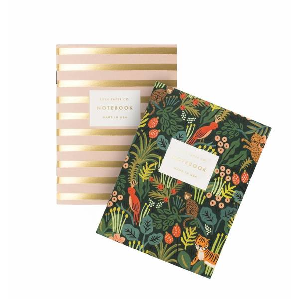 Rifle Paper Co.Pocket Notebook Jungle Set of 2