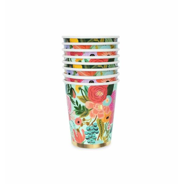 Rifle Paper Co. Garden Party Set of 12 Paper Cups