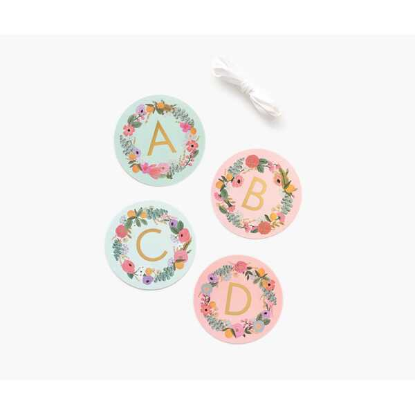 Rifle Paper Co. Garden Party Paper Letter Garland