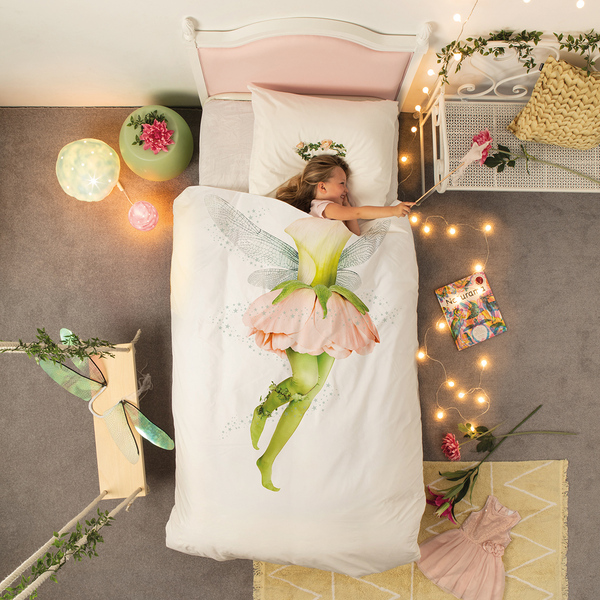 Snurk Quilt Cover Set Single Fairy