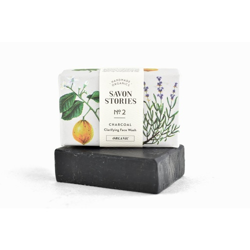 Savon Stories Organic Soap Charcoal