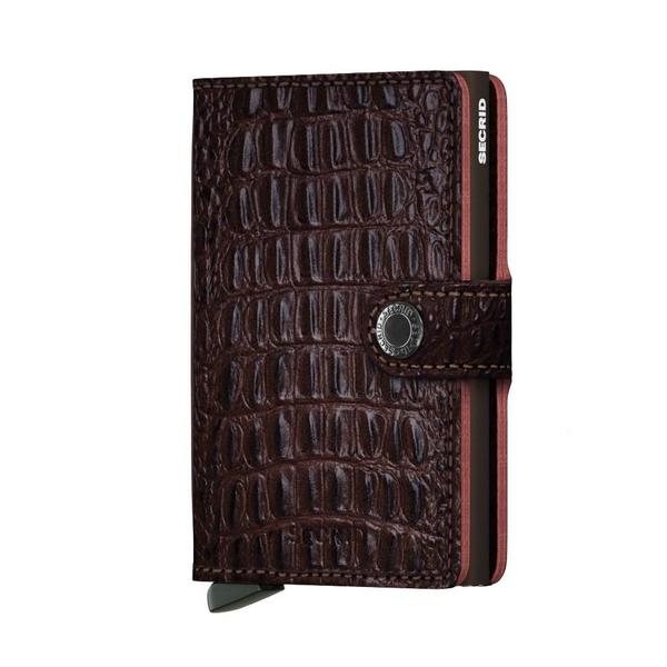 Secrid Mini Wallet - Nile Brown