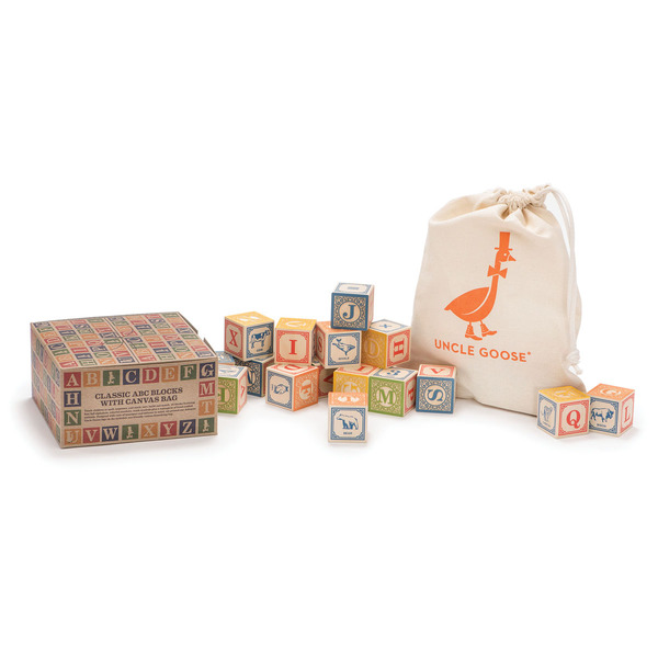 Uncle Goose Blocks Classic ABC Blocks