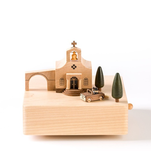 Wooderful Life Wedding Church Music Box